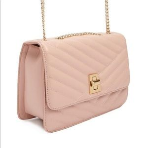 NWT Forever 21 Quilted Handbag Pink